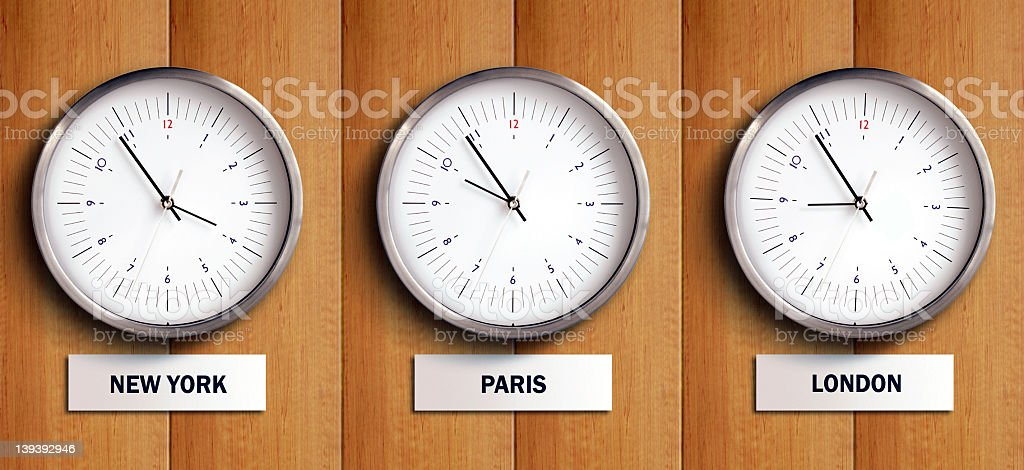 Time zone 1 royalty-free stock photo
