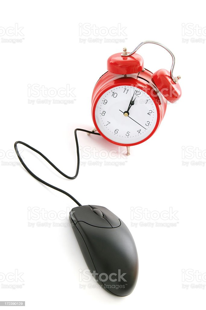 Timed Technology royalty-free stock photo