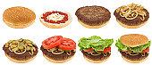 istock Timelapse hamburger making 154933919