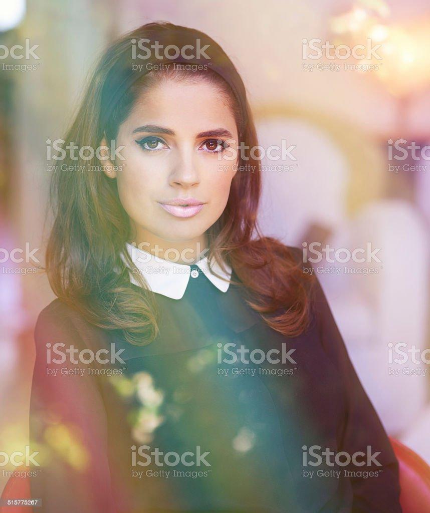 Timeless beauty stock photo