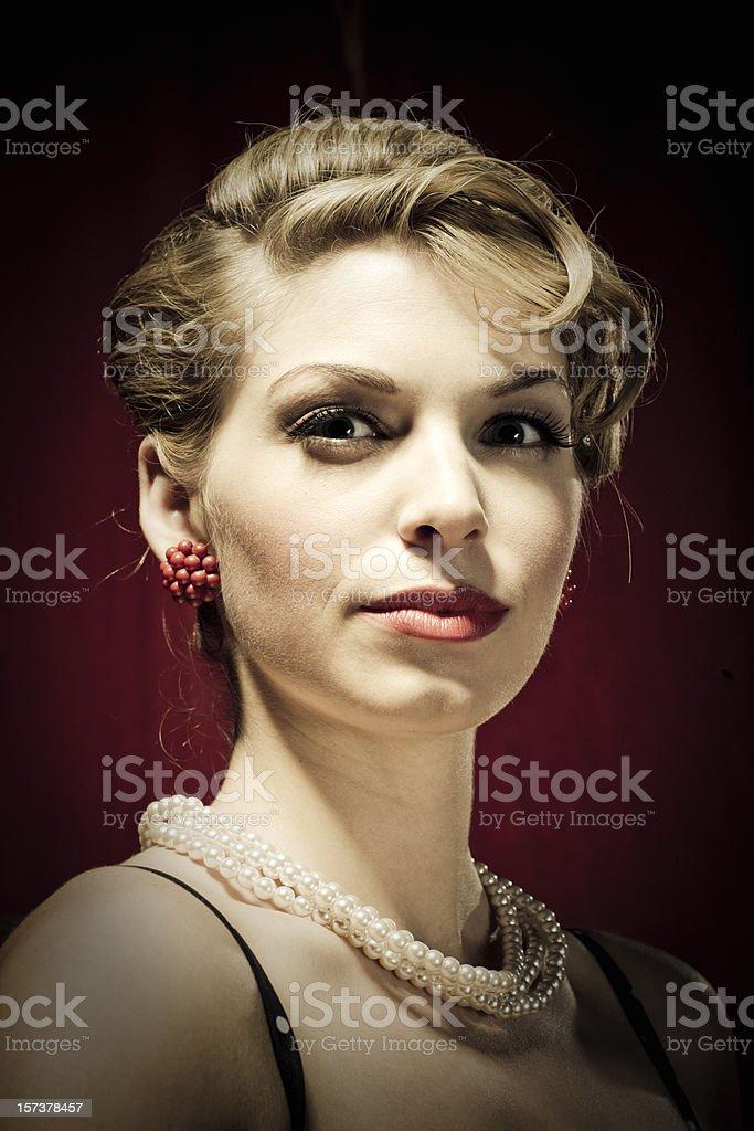 Timeless Glance royalty-free stock photo