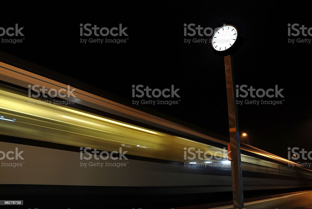 timeless train with no time royalty-free stock photo