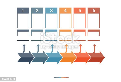 istock Timeline Infographic design template 802464718