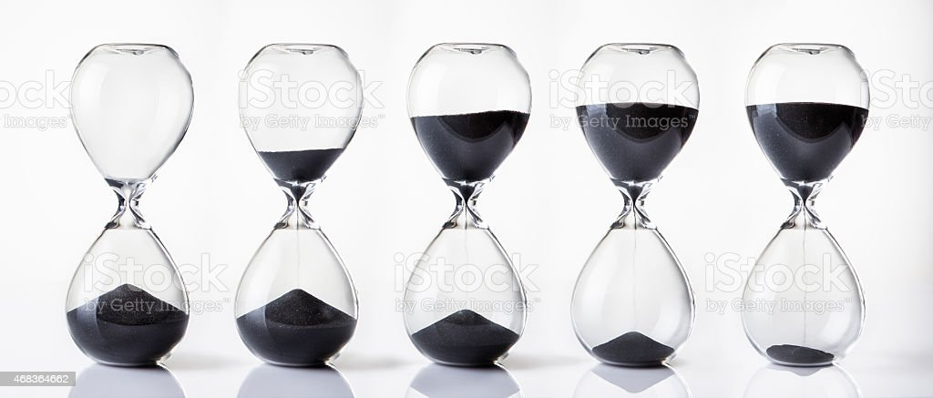timer running out stock photo