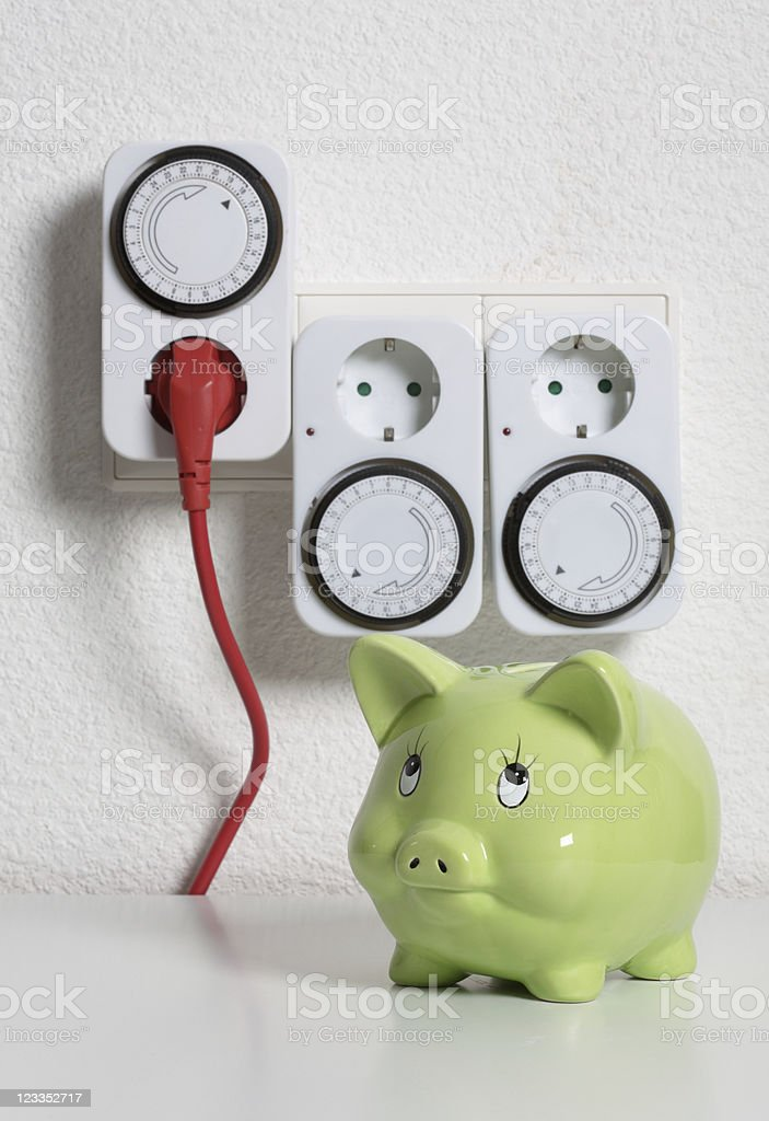 Timer Switch royalty-free stock photo