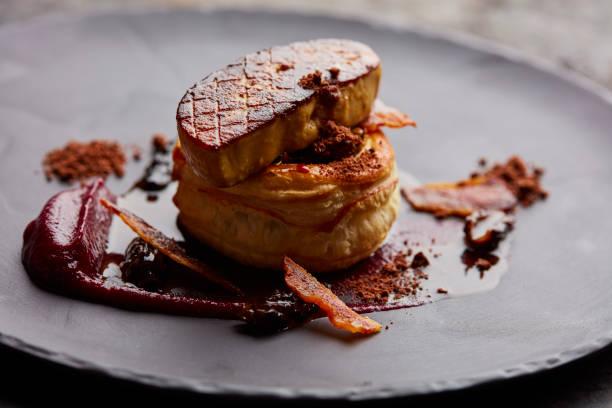 fois gras - foie gras photos et images de collection