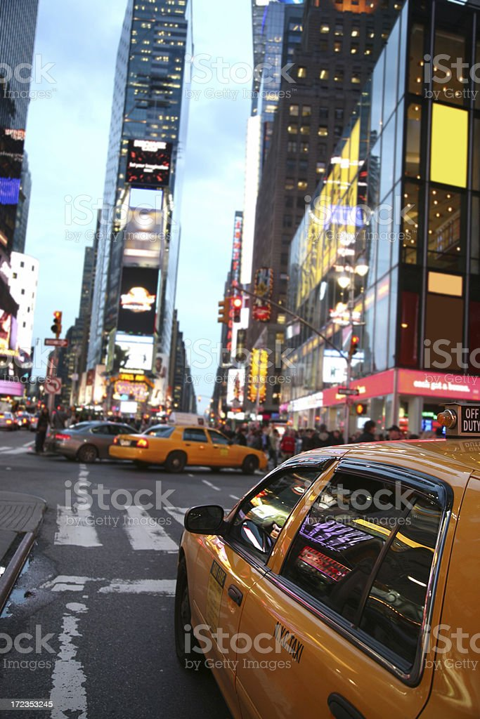 Times Square, cruce del mundo foto de stock libre de derechos