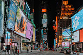 istock Times Square empty during COVID-19 1216696732