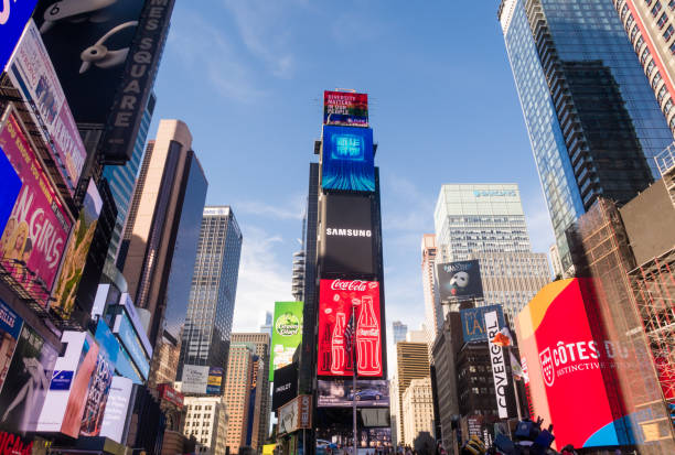 Times Square in Downtown Manhattan – Foto