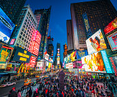 istock Times Square in New York City at dusk 981808424