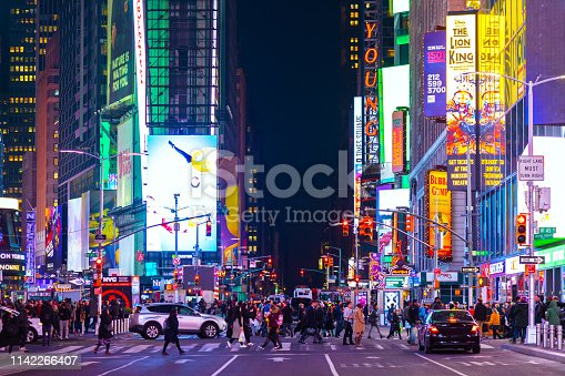 istock Times Square in New York City 1142266407