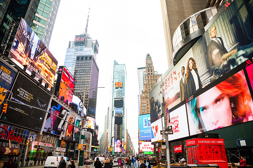 istock Times Square in New York City 1142409598