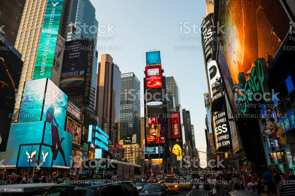 Times Square, Manhattan, New York City stock photo