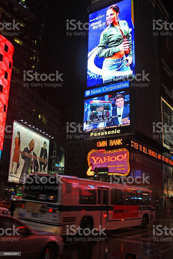 Times Square, Manhattan, New York royalty-free stock photo