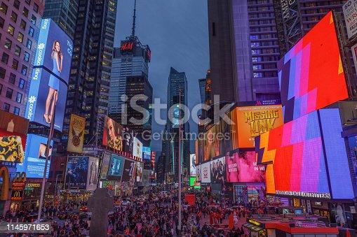 istock Times Square, Manhattan, New York, USA 1145971653