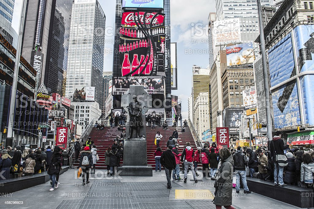 Times Square, Manhattan royalty-free stock photo
