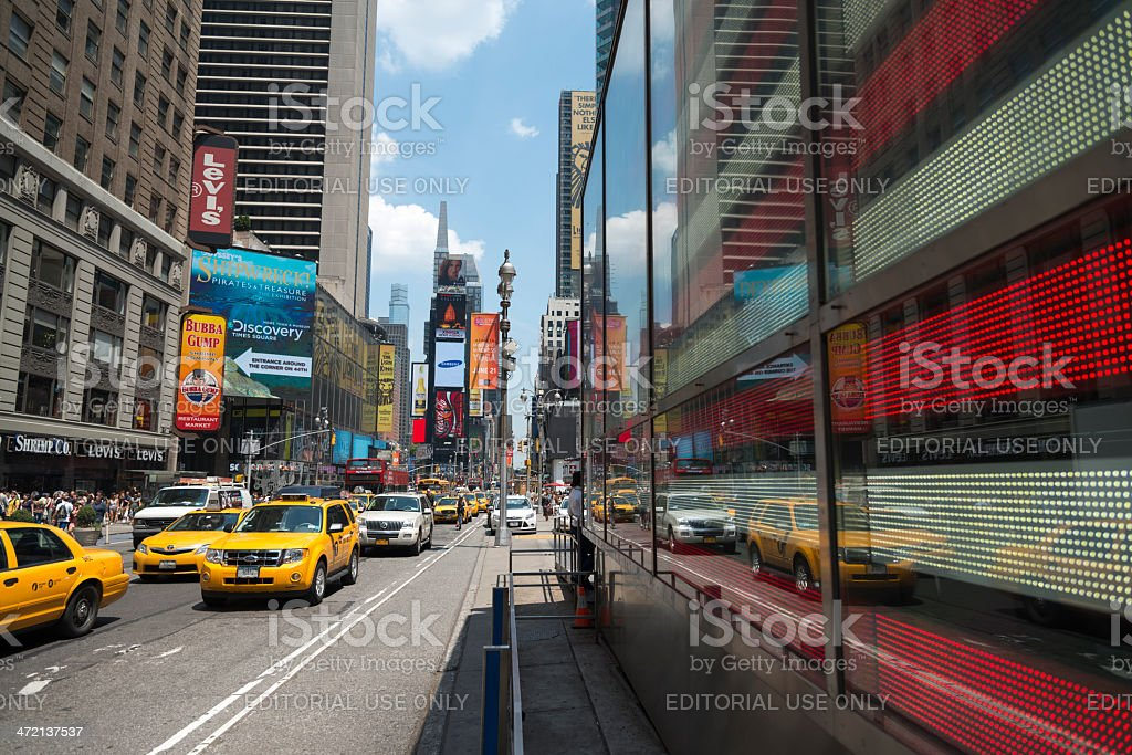 Times Square Manhattan royalty-free stock photo