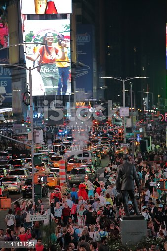981808424 istock photo Times Square, New York City 1141431254