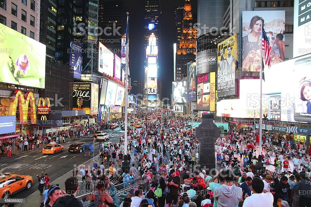 Times Square, New York royalty-free stock photo