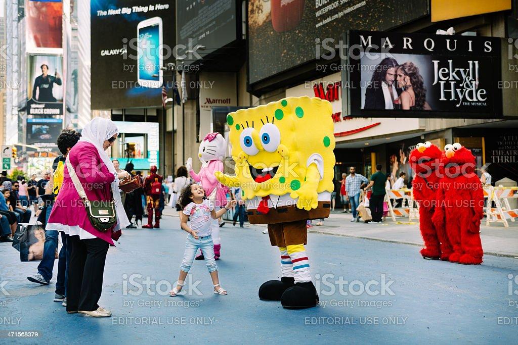 Times Square New York - foto de acervo