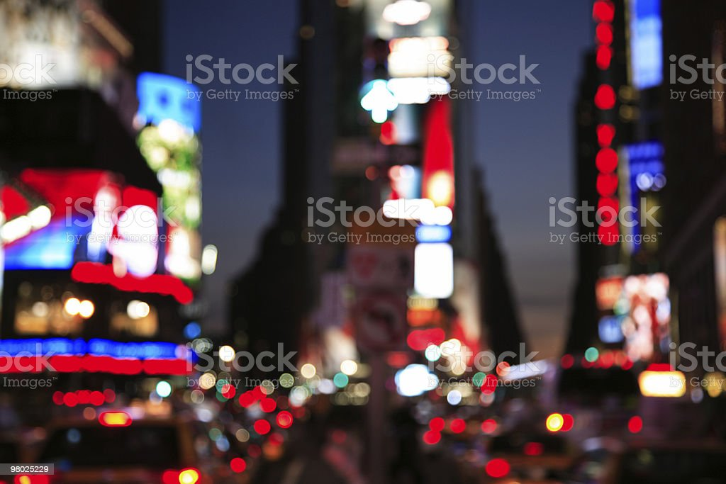 Times Square, NYC royalty-free stock photo