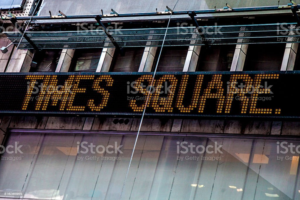 Royalty free times square currency exchange new york city