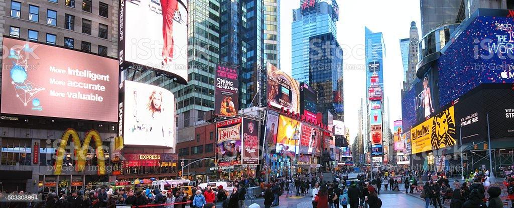 Vue sur Times Square - Photo