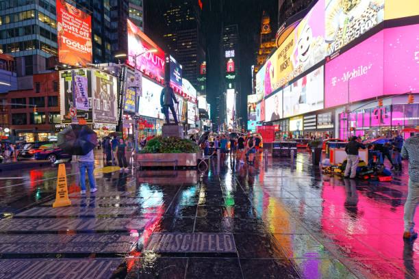 times square - auto trennwand stock-fotos und bilder