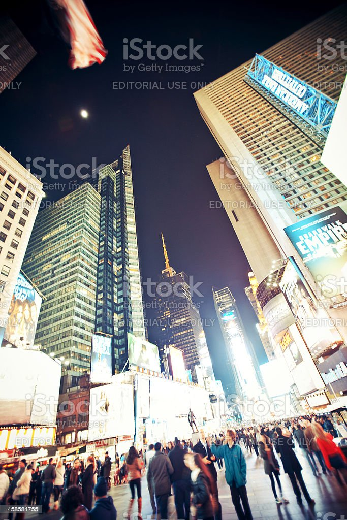 Times Square. royalty-free stock photo