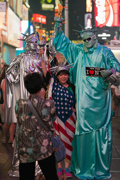 Times Square - foto de stock