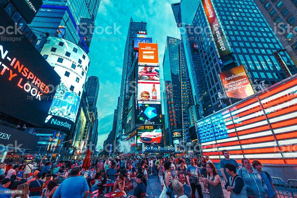 Times Square - foto de acervo