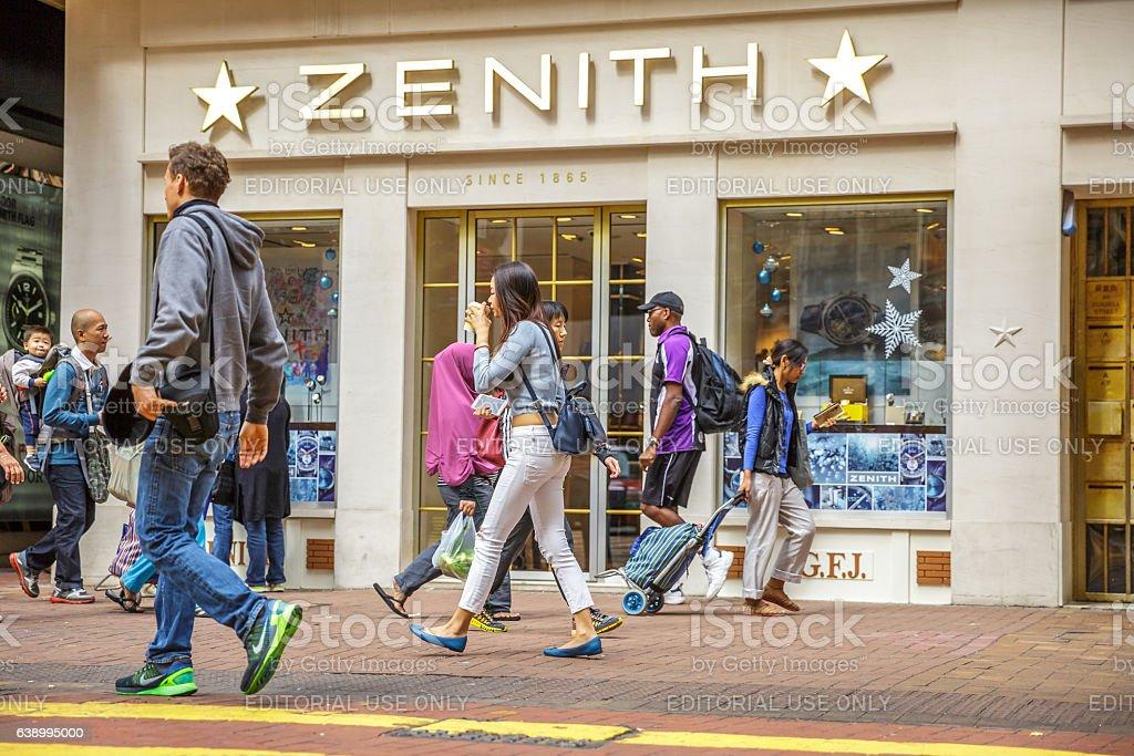 Times Square Zenith stock photo