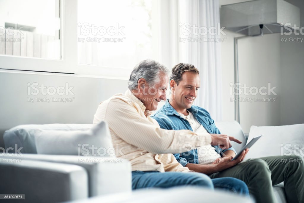 Times sure have changed stock photo