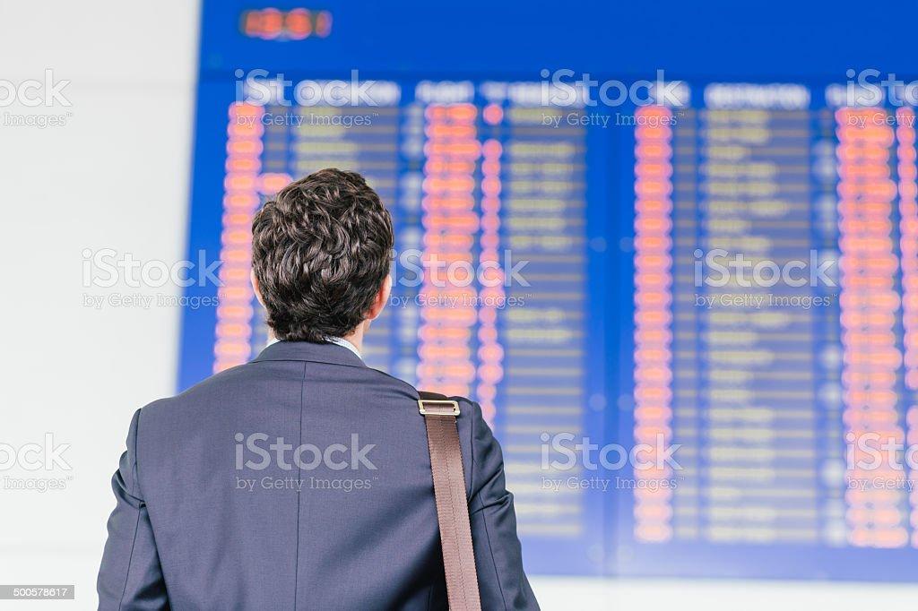 Timetable stock photo