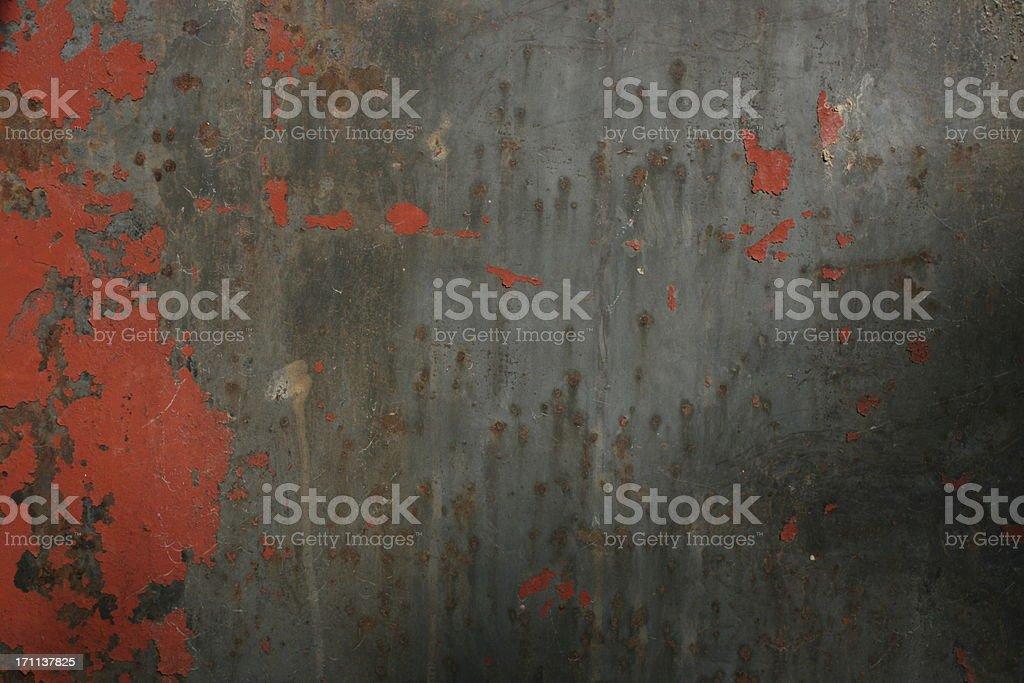 Time-worn Metallic Texture royalty-free stock photo