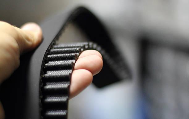 cintura timing - materiale gommoso foto e immagini stock