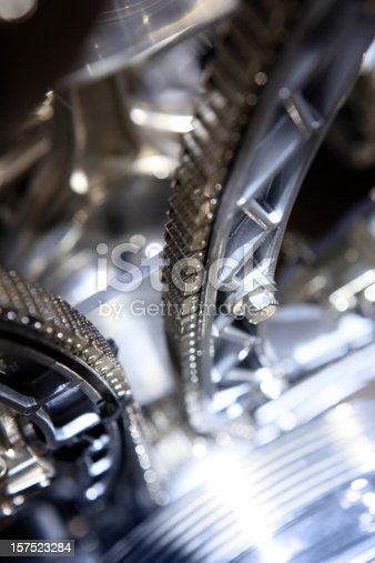 istock Timing chain belt 157523284