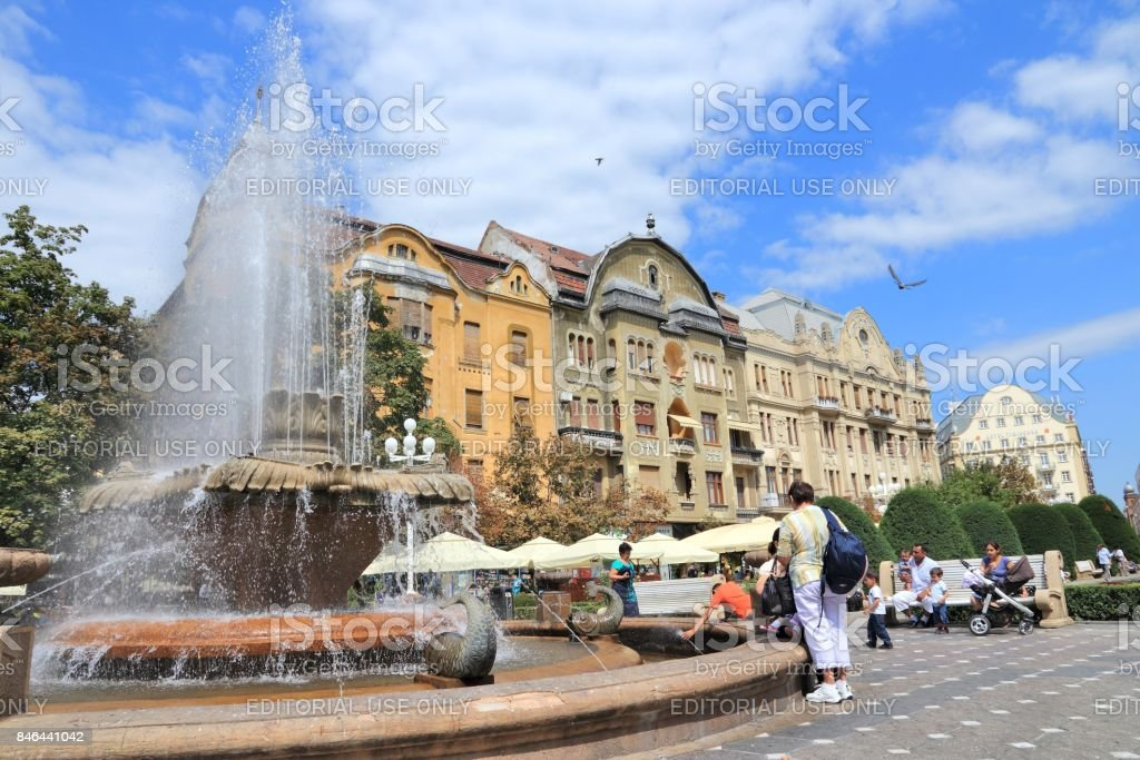 Timisoara stock photo