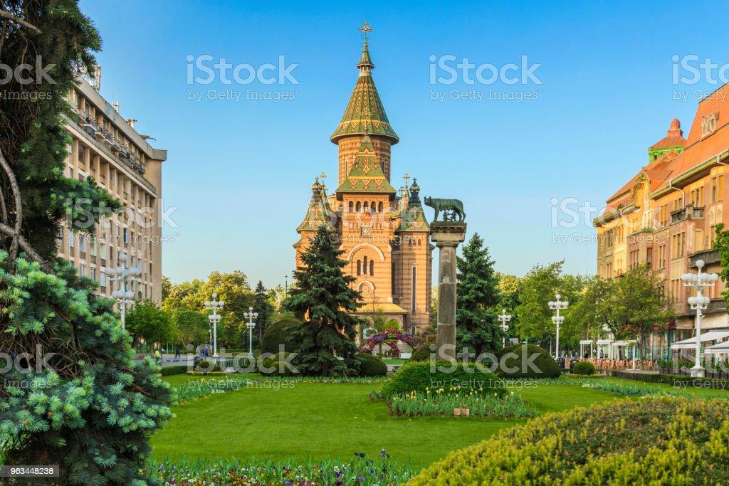 Place de la victoire Timisoara - Photo de Architecture libre de droits