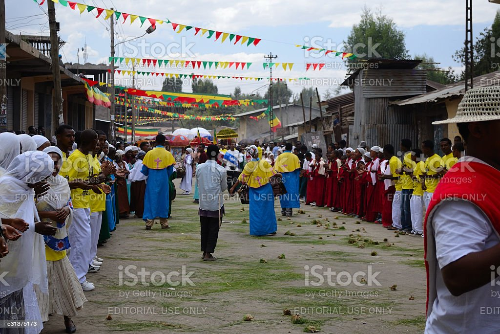 Timkat Celebration In Ethiopia Stock Photo - Download Image Now - iStock
