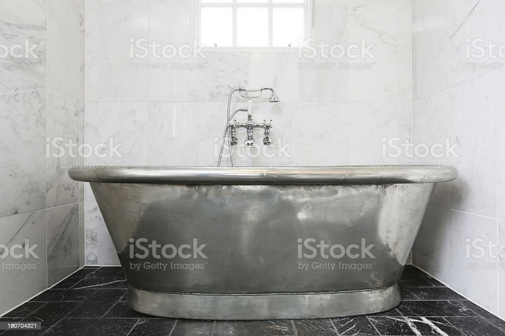 Tin Bath stock photo