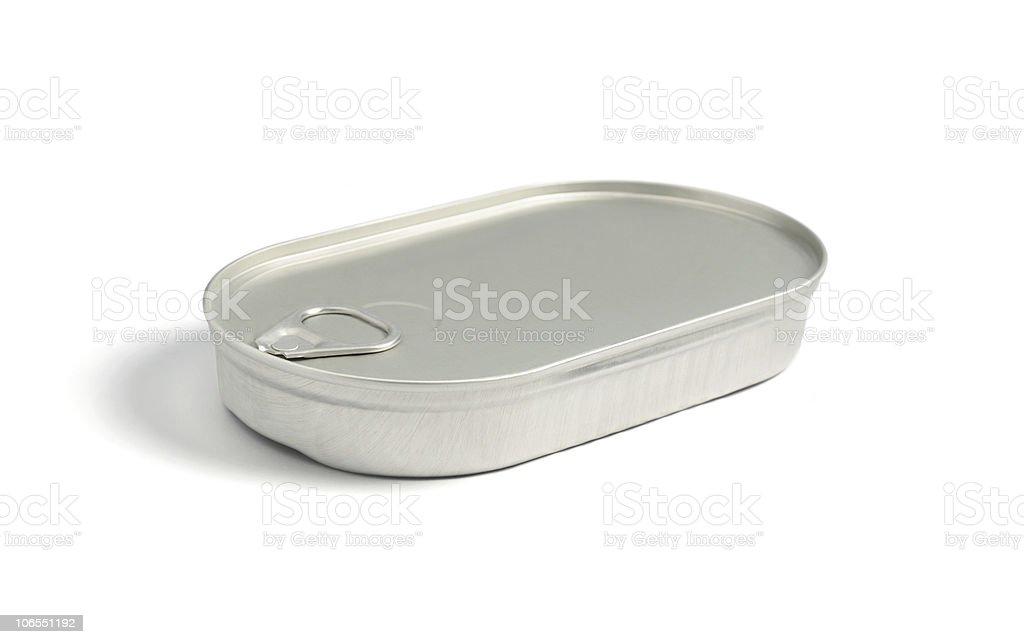 Tin can full royalty-free stock photo