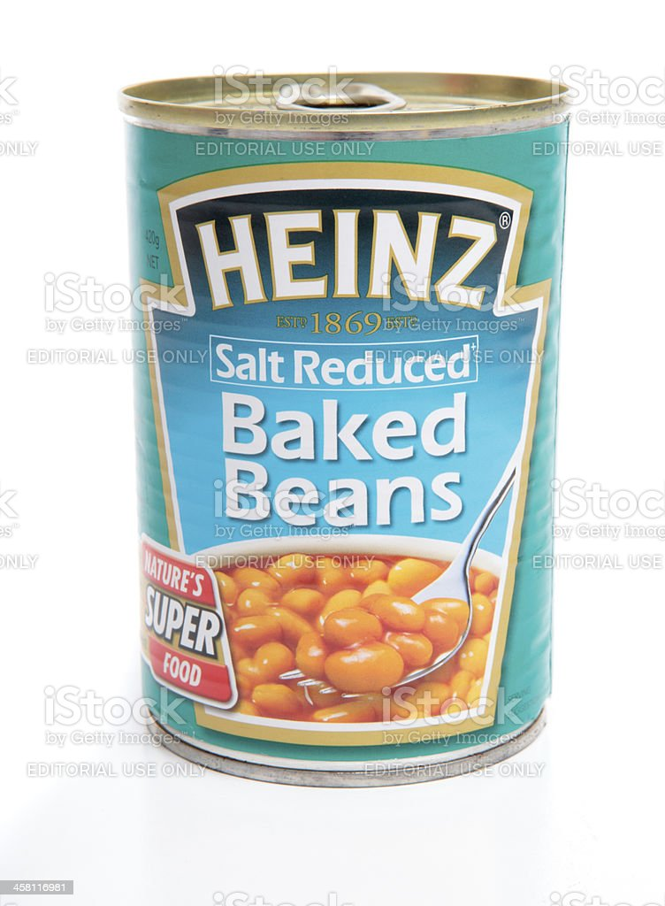 Tin Can Of Baked Beans Stock Photo Download Image Now Istock