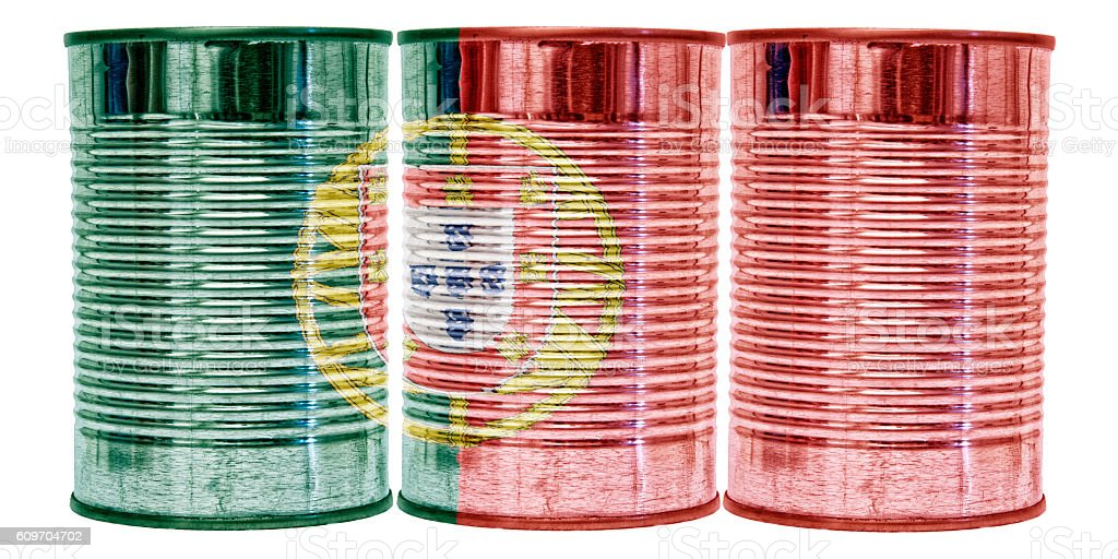 Tin Cans Flag of Portugal