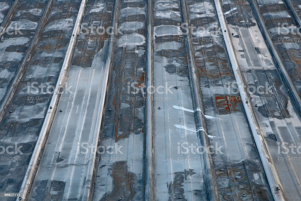 Tin Roof royalty-free stock photo