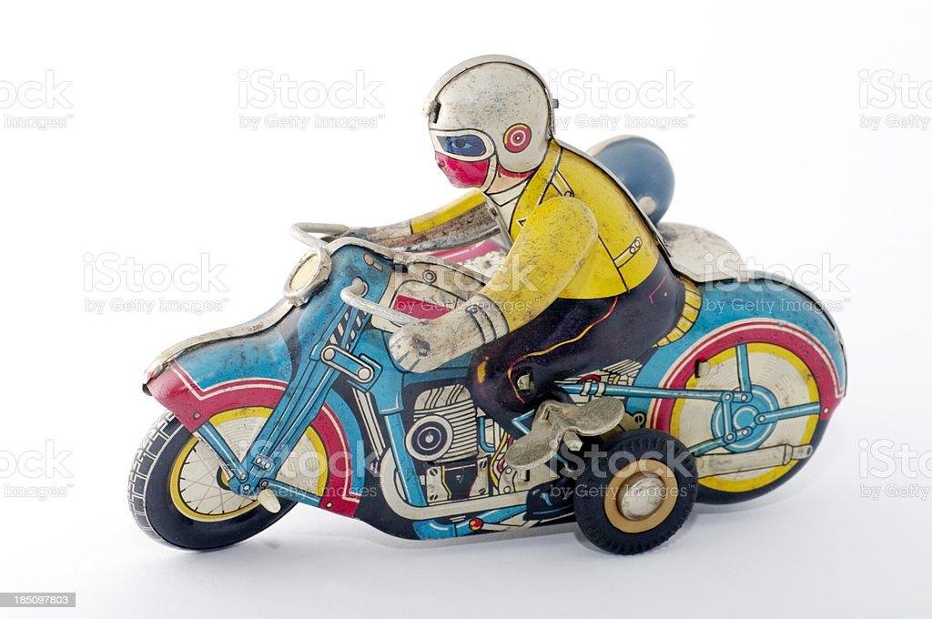 Tin Spielzeug: Motorrad – Foto