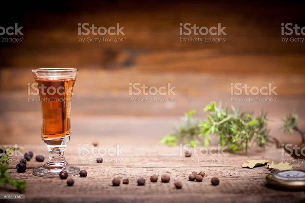 tincture alcohol on the table stock photo