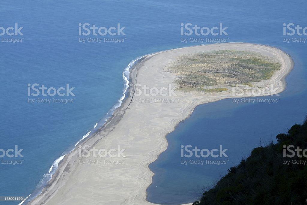 Tindari beach. Sicily stock photo