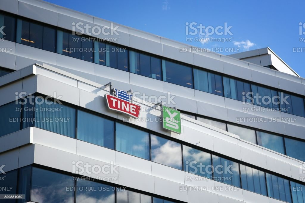 Tine office building stock photo