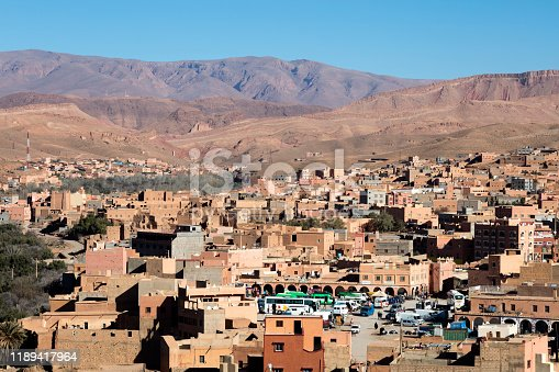 Tinghir city is capital of Tinghir Province, in the region of Drâa-Tafilalet, south of the High Atlas and north of the Little Atlas in southeastern Morocco.